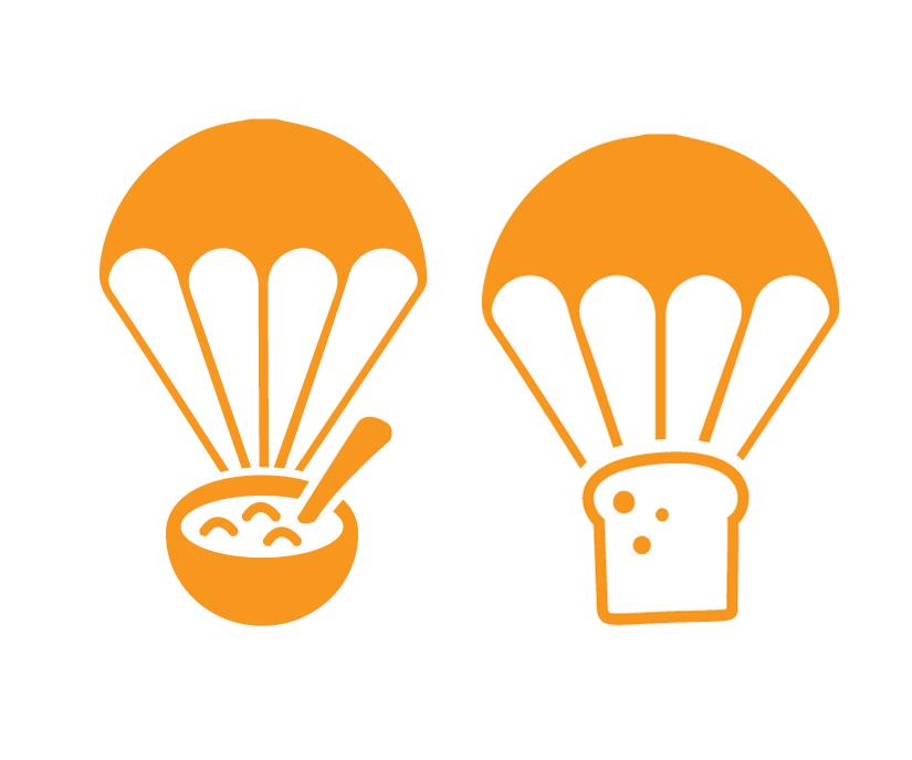 Parachute Food - 2